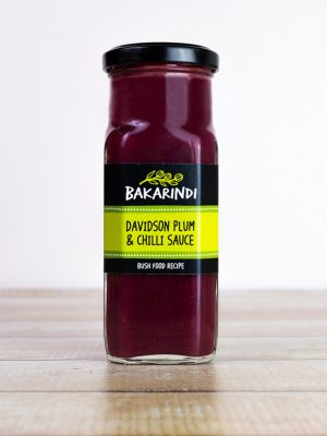 Davidson Plum & Chilli Sauce - Bakarindi Bush Food - Aussie Bush Tucker