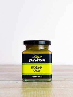Macadamia Satay - Bakarindi Bush Food - Australian Macadamia Satay Sauce