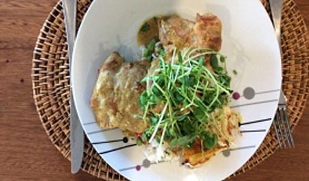 Australian Bush Tucker Recipe - Macadamia Satay Chicken